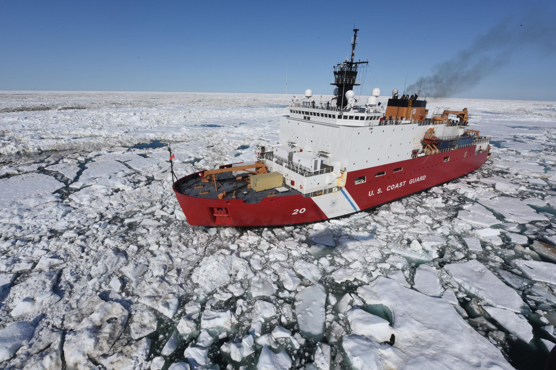 Coast Guard Cutter Healy, Icebreaker
